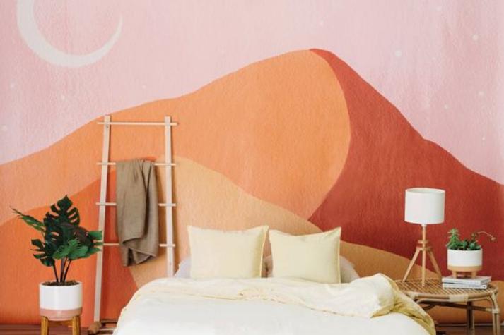Inspirasi Mural Menghias Kamar